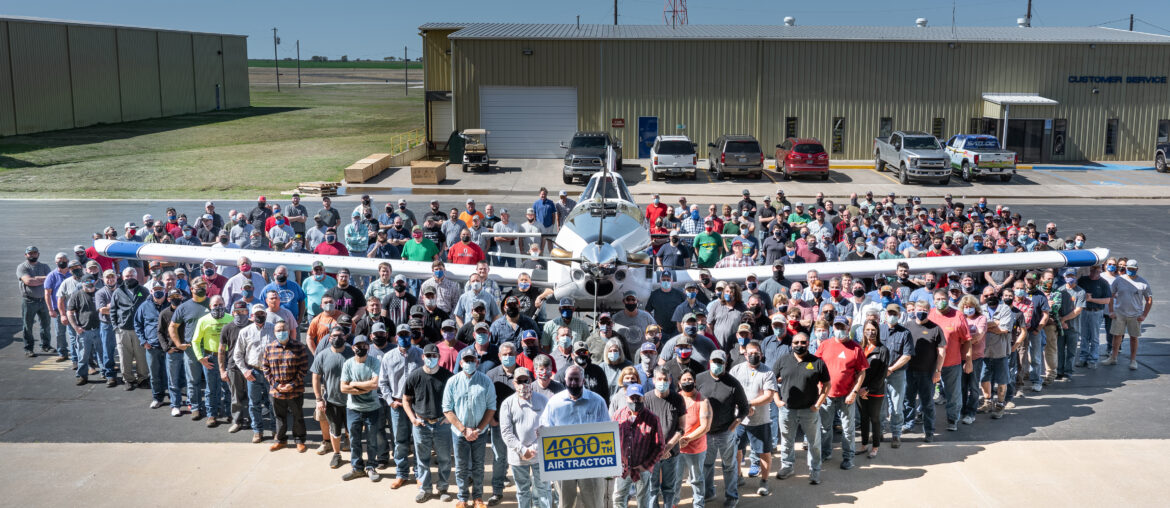 4000th air tractor